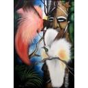 Rajky, Olej na plátně, 50 x 80 cm