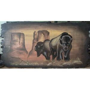 dřevěné obrazy