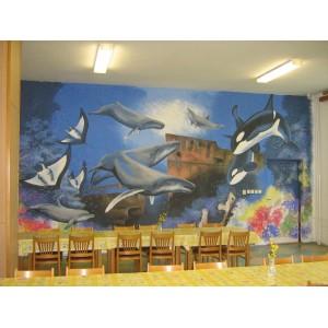 Školní jídelna ve Veselí nad Moravou
