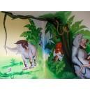 Dětský pokoj - Kniha džunglí