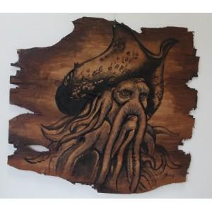 malování na dřevo