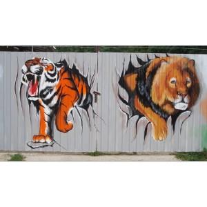 Malování na plechy u Zoo Hodonín